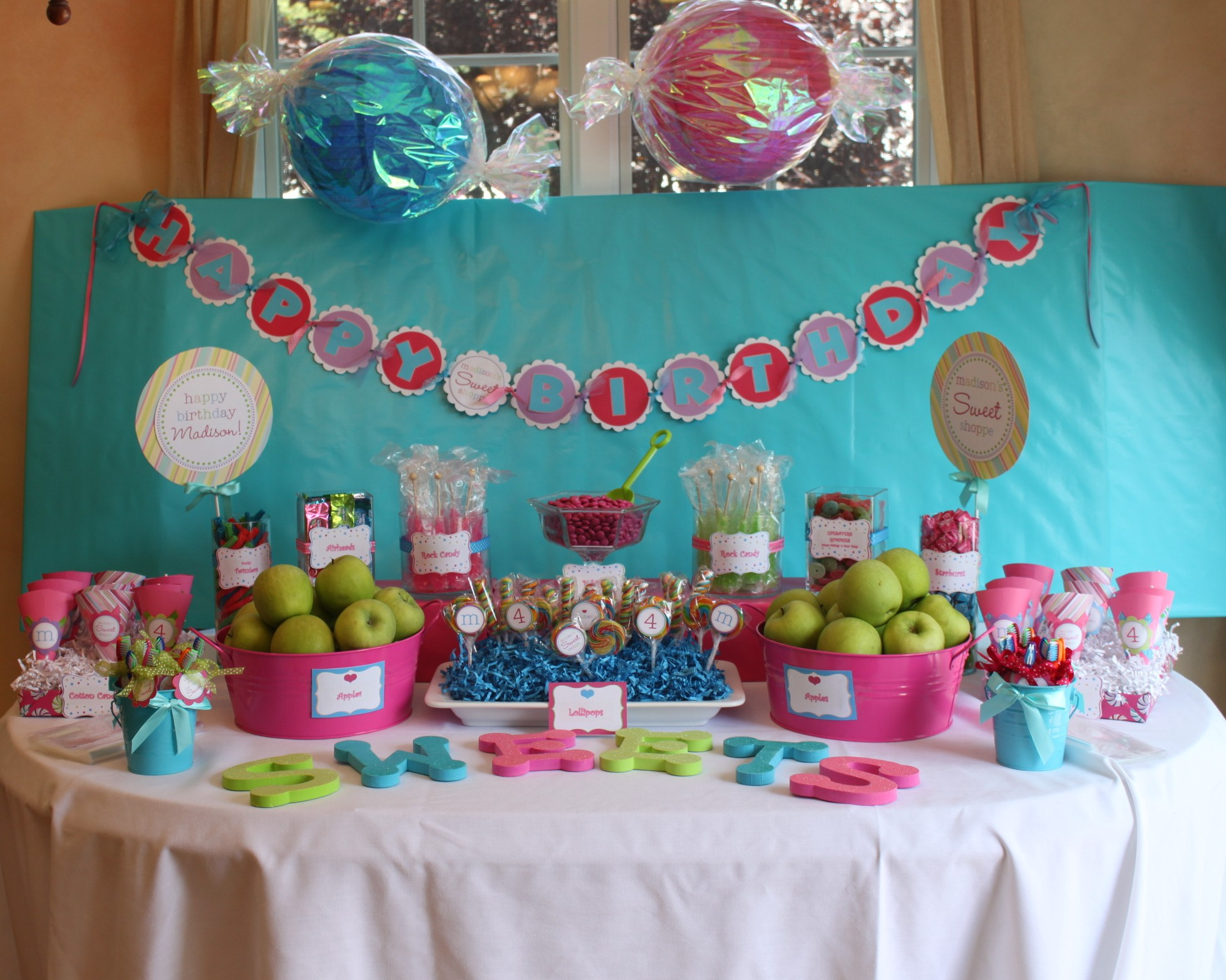 Sweet Shoppe Party | Partying with the Princesses