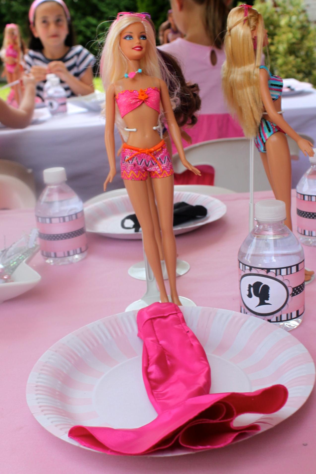 Barbie Invitation Ideas as good invitations layout