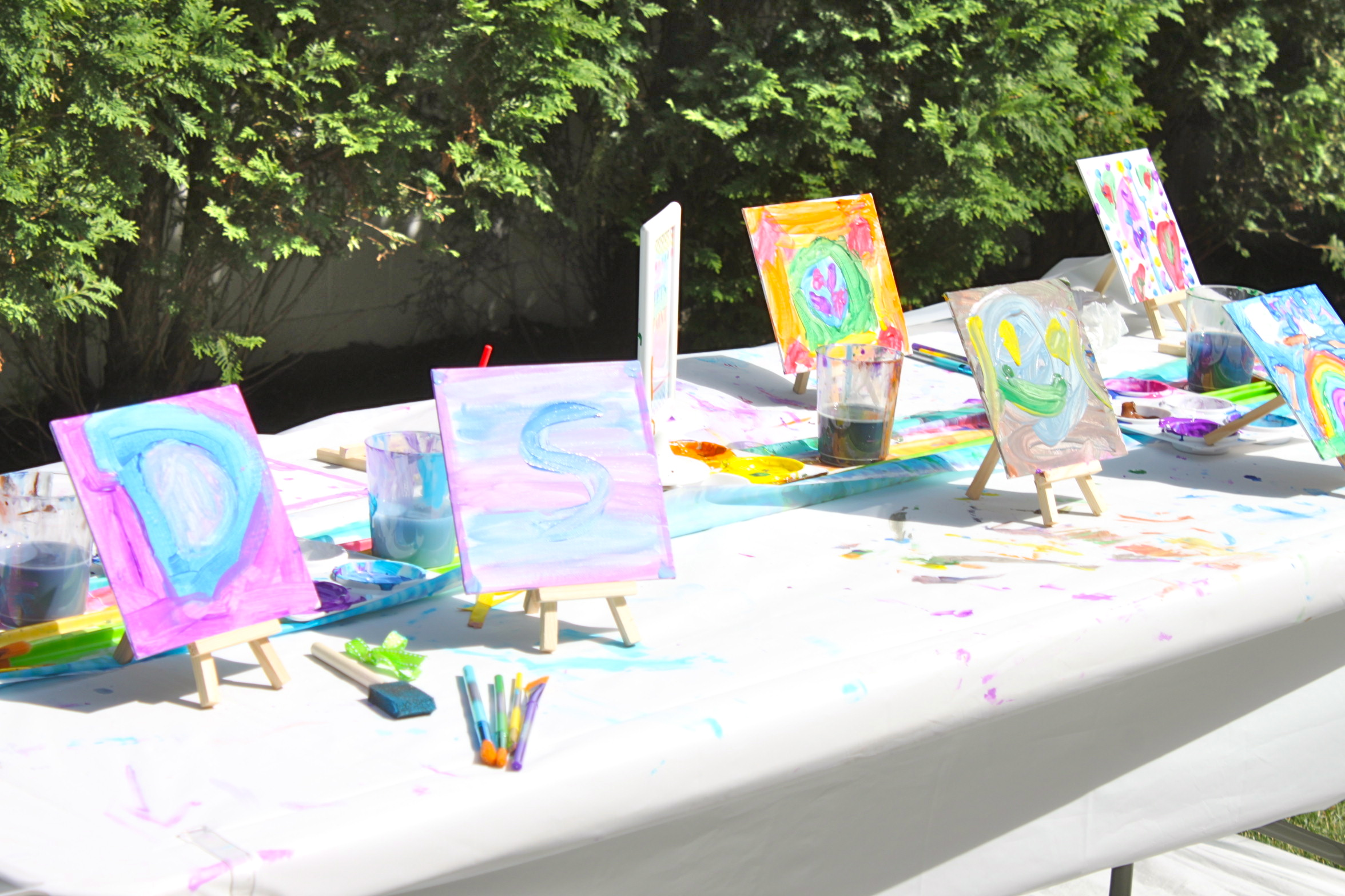 Arts and crafts party ideas - Img_0184