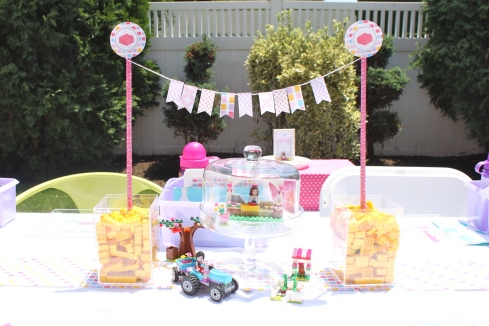 Lego Friends Party | Partying with the Princesses