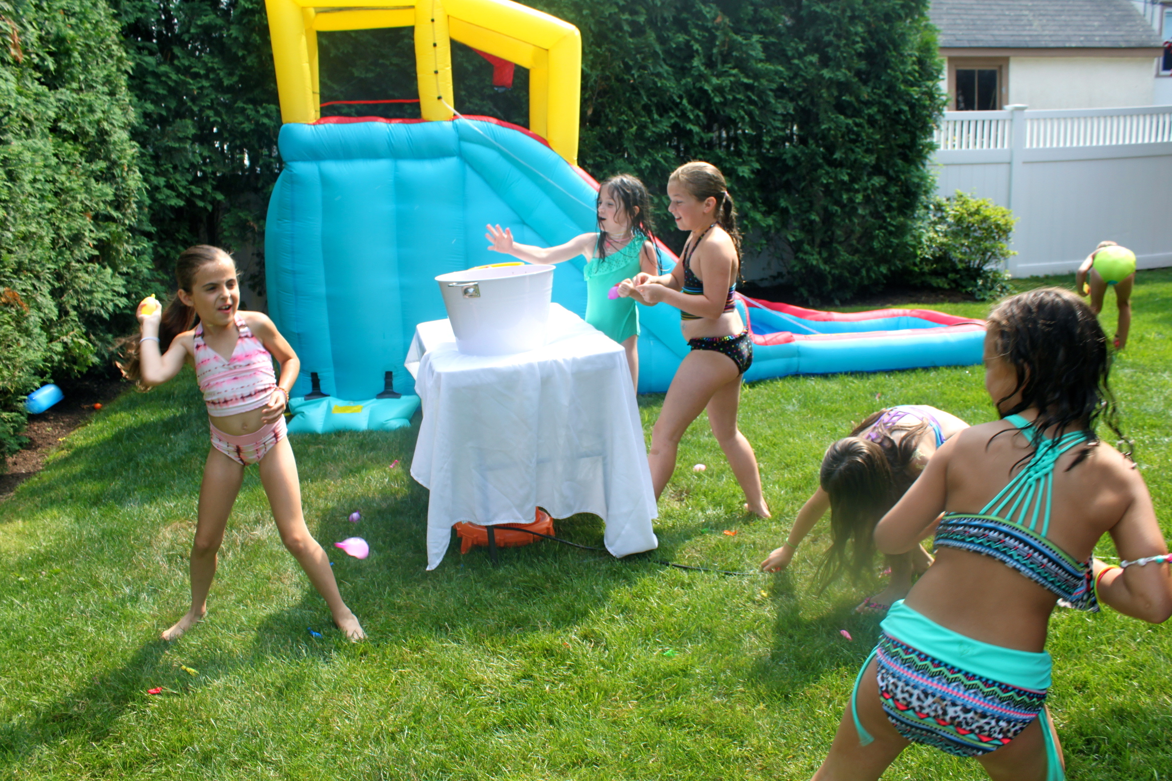 backyard boardwalk birthday bash partying with the princesses